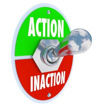 Ação ou paralisação? É só uma questão de atitude